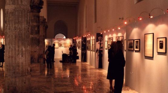 A 2003-as Márai kiállítás Salernóban