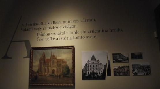 A kassai Márai kiállítás 3D-ben