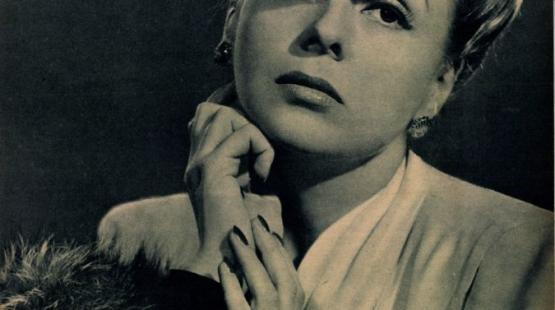 Mezei Mária portréja 1943-ból