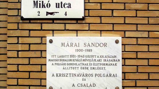 Megemlékezések Márai Sándor születésnapja alkalmából
