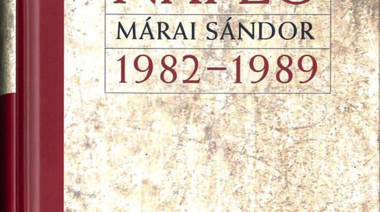 Az utolsó Márai napló