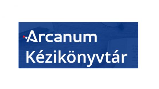 Arcanum Kézikönyvtár